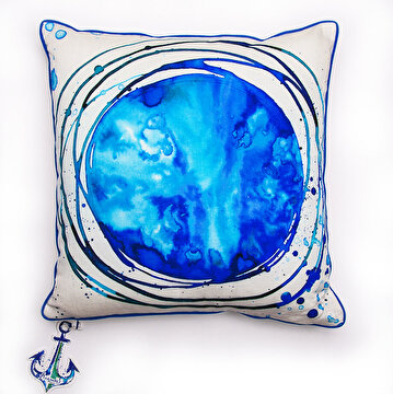 Picture of BiggDesign AnemoSS Route Pillow by Turkish Artist, 40x40cm