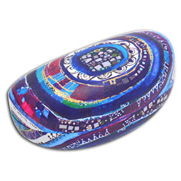 Picture of BiggDesign Evil Eye Glasses Case, Soft Slip In Eyeglass Case For Women