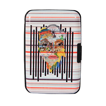 Picture of  Biggdesign Nature Earth Stripe Business Card Holder