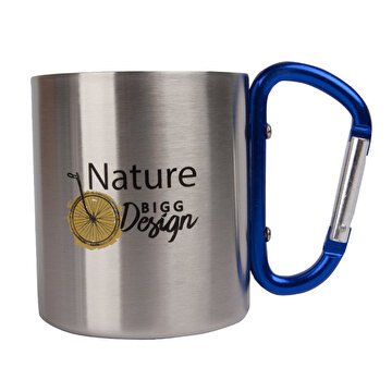 Picture of   Biggdesign Nature Carabiner Handled Mug