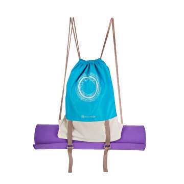 Picture of  BiggYoga Blue Karma Bucket Backpack