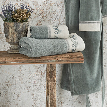 Picture of  Ecocotton Hira Green, 100% Original Turkish Cotton Towel, 80*150 Cm