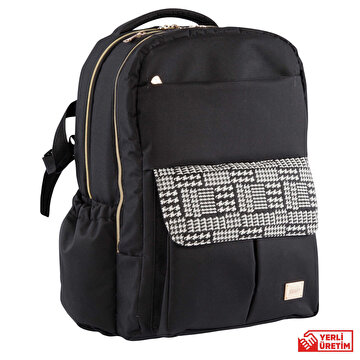 Picture of   Kraft Daisy Back Pack - Black