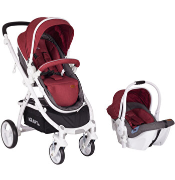 Picture of   Kraft Fit Travel System - Red/White