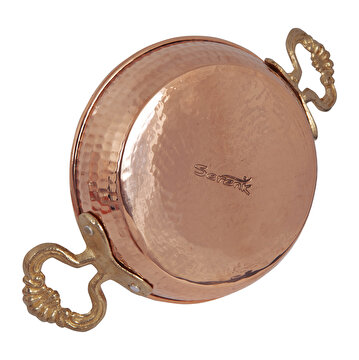 Picture of   Serenk Copper Shallow Frying Pan 18 Cm
