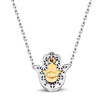 Picture of  TashDesign Hamsa Necklace