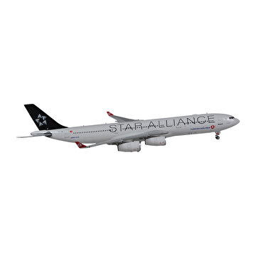 Picture of  TK Collection A340-300 Star Alliance Airplane Model