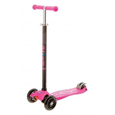 Picture of Micro Maxi Scooter - Pink With Black T-Bar