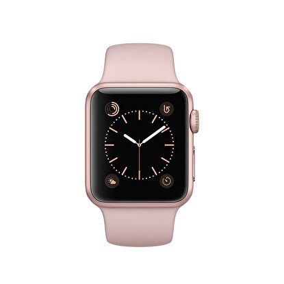 Picture of Apple Watch Series 1 38 mm Roze Altın Rengi Alüminyum Kasa Kum Pembesi Spor Kordon MNNH2TU/A
