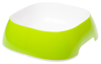 Resim  Ferplast Glam Large Acıd Green Bowl Mama Kabı