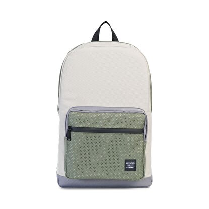 Picture of Herschel Pop Quiz Pelican/Deep Lichen Green/Black Rubber Sırt Çantası