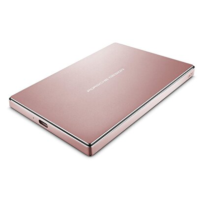 "Picture of Lacie Porsche Design 2TB 2.5"" USB 3.0 Type C Taşınabilir Disk Rose Gold"