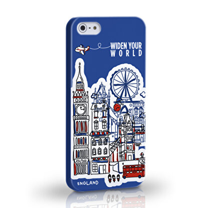 Resim  TK Collection England iPhone 5/5S Kapak