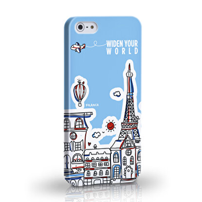 Resim  TK Collection France iPhone 5/5S Kapak