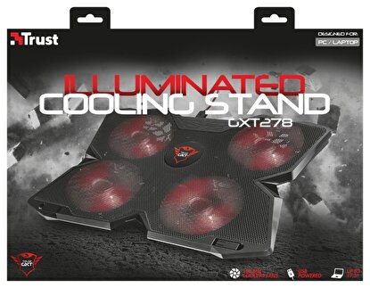 Picture of Trust 20817 GXT 278 4 Fanli Gaming Notebook Soğutucu Stand