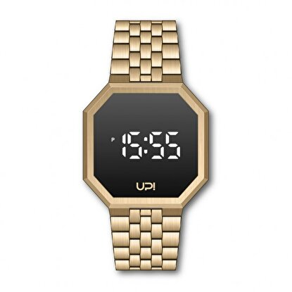 Resim   Upwatch Edge Gold Unisex Kol Saati