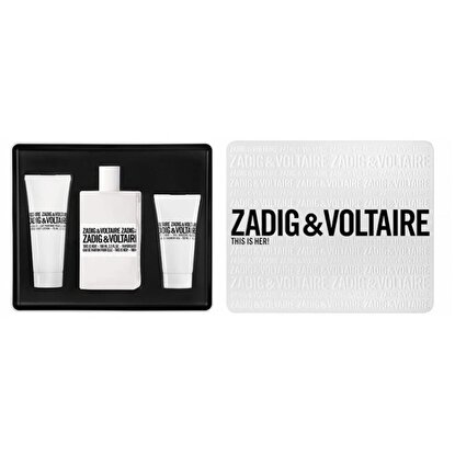 Picture of  Zadig & Voltaire This Is Her! EDP 100 ml - Bayan Parfüm Set
