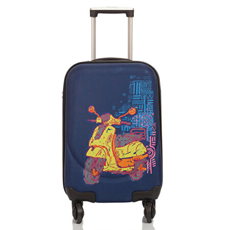 Picture of BiggDesign Artist Design Canvas Luggage Motorcycle