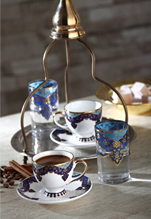 Picture of Decorium Bergüzar 12 Piece Coffee Set
