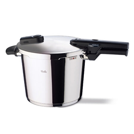 Picture of Fissler Vitaquick Pressure Cooker 6.0L. + Kaiser Classic 4 Piece Cake Mold Set
