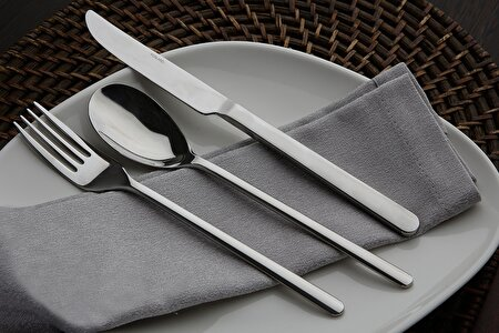 Picture of Porland Fst Droplet 24 Pcs Cutlery Set