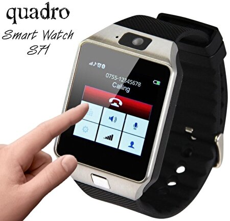 Picture of Quadro Smart Watch S71 Smart Watch Black