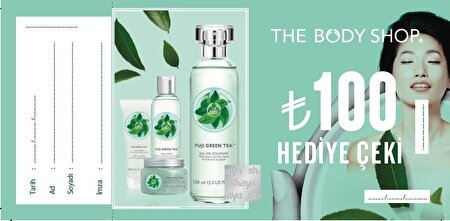 Picture of The Body Shop 100 TL gift check