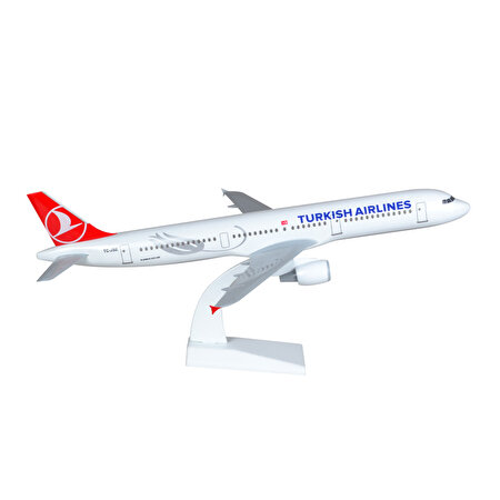 Resim  TK Collection A321 1/100 Plastik Model Uçak