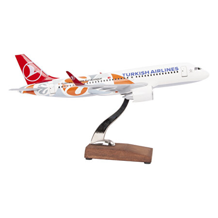 Resim   TK Collection Euroleague A320 1/100 Model Uçak
