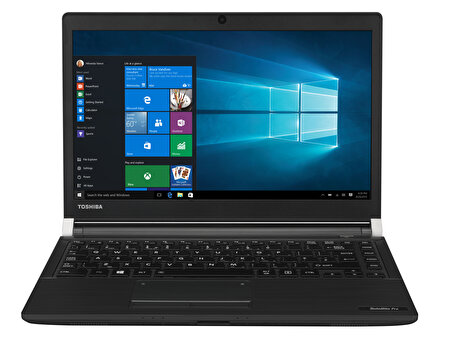 "Picture of Toshiba Satellite Pro A30-D-14H, Core i7-7500U, 8GB, 256GB SSD, 13.3"" HD, Win10 Pro, Notebook Siyah"