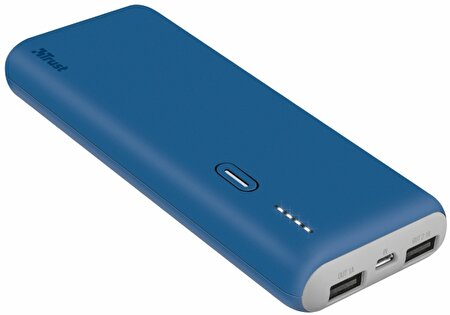 Picture of  Trust 22264 Slim Powerbank Mavi 10000 mah