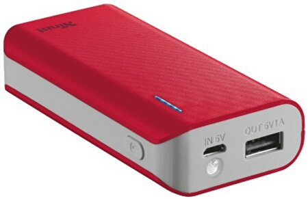 Picture of Trust Urban 21226 4400 Mah Powerbank-Red