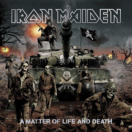 Resim  IRON MAIDEN - A MATTER OF LIFE AND DEATH UMSC0190295851958