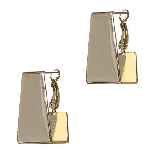 Biggbijoux Lepha Küp Küpe-Altın Renkli