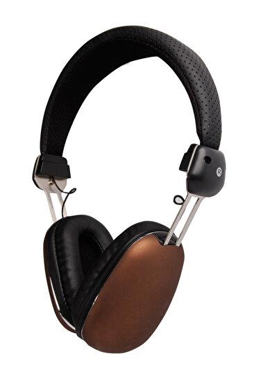 Biggsound Kahverengi Mikrofonlu Kulaklık