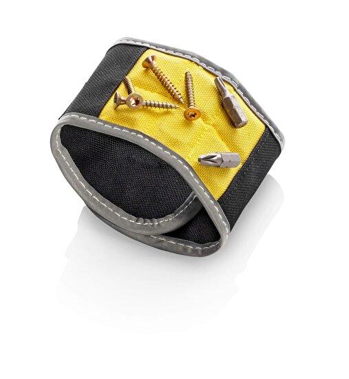 Dunlop 10417400 Mıknatıslı Bilek Bandı Siyah Sarı