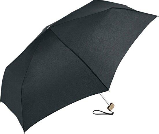 Fare 5060-11460 Slimlite® Super-Flat Mini Şemsiye Siyah