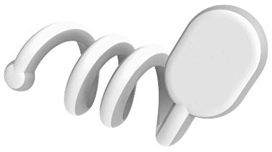 Gumbite 12354500 Kablo Toplayıcı Gri Beyaz