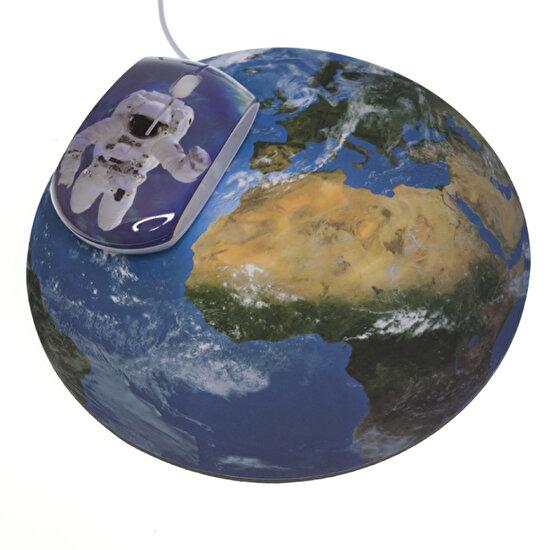 La Chaise Longue Lcl31C2199 Astronot Mouse Pad & Mouse