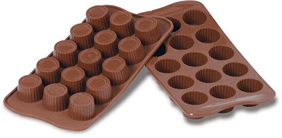 Silikomart Praline Çikolata Kalıbı