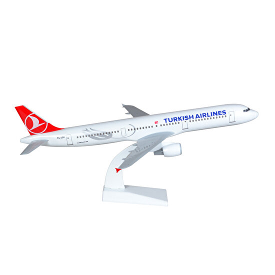 TK Collection A321 1/100 Plastik Model Uçak