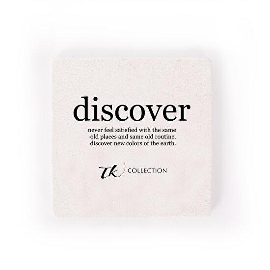 TK Collection Discover Taş Bardak Altı
