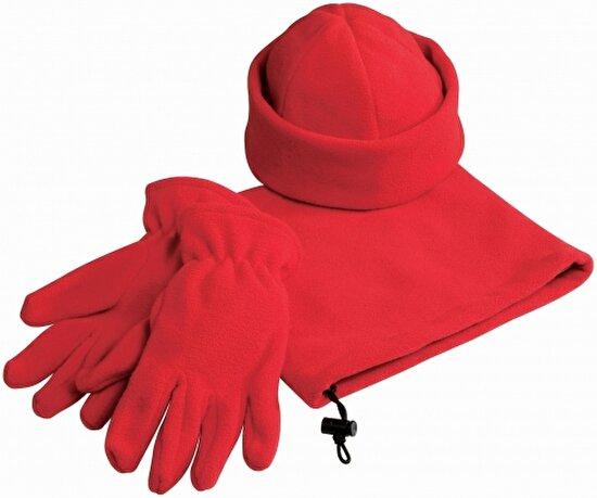 Us Basic 11100600 Polar Şapka Eldiven