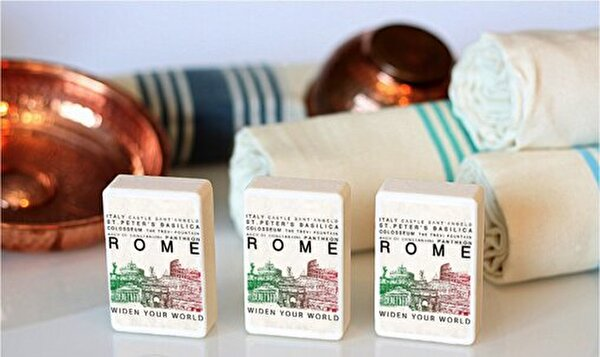 Picture of  TK Collection Rome Soap Set 3 Pieces