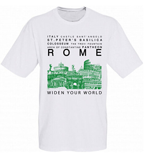 Picture of  TK Collection Rome T-Shirt Large