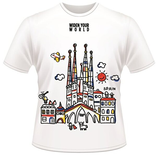 Picture of  TK Collection Spain T-Shirt Large