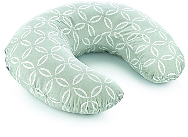 Picture of  Babyjem Breastfeeding and Support Cushion Green Ring