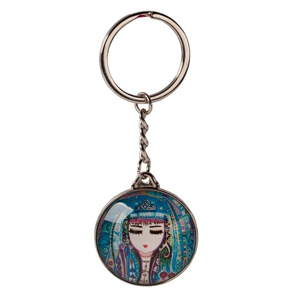 Picture of BiggDesign Blue Water Keychain