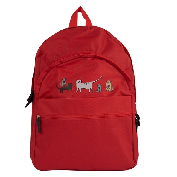 Picture of Biggdesign Cats in İstanbul Red Backpack