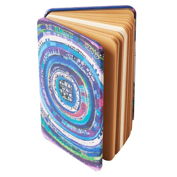 Picture of BiggDesign Evil Eye, Unlined and Metal Cover Notebook